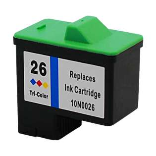 Remanufactured Lexmark 10N0026 / #26 ink cartridge - color
