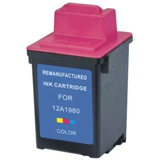Remanufactured Lexmark 60, 17G0060, 17G0065 ink cartridge, high yield, color
