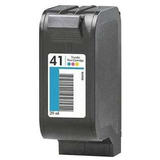 Remanufactured HP 51641A / 41 ink cartridge - color