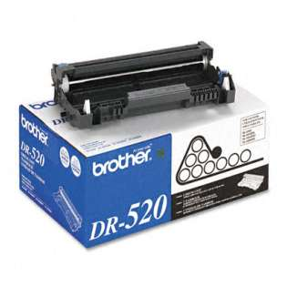 Brother DR520 Genuine Original (OEM) toner drum, 25000 pages