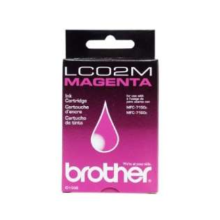 OEM Brother LC02M cartridge - magenta