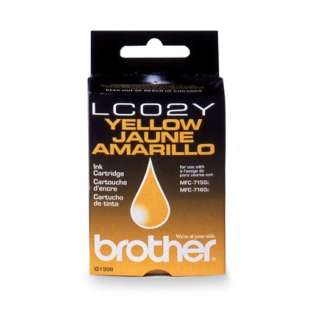 OEM Brother LC02Y cartridge - yellow