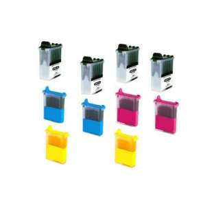 Compatible ink cartridges Multipack for Brother LC04 - 10 pack