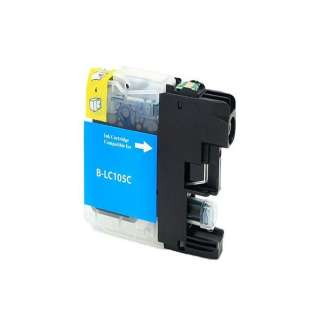 Compatible cartridge for Brother LC105C - cyan, 1200 pages