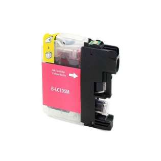 Compatible cartridge for Brother LC105M - magenta, 1200 pages