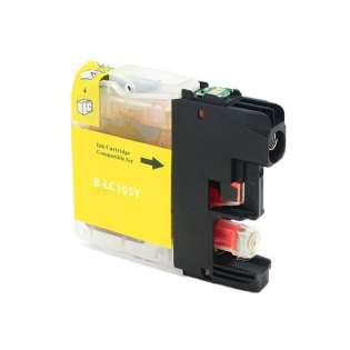 Compatible cartridge for Brother LC105Y - yellow, 1200 pages