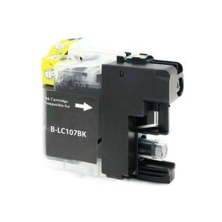 Compatible cartridge for Brother LC107BK - black, 1200 pages