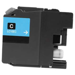 Compatible Super high capacity yield cartridge for Brother LC10EC (Cyan)