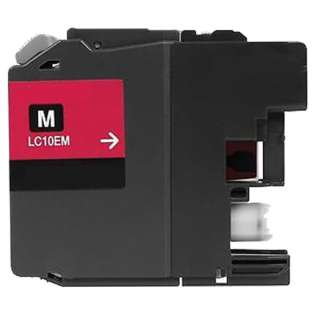Compatible Super high capacity yield cartridge for Brother LC10EM (Magenta)
