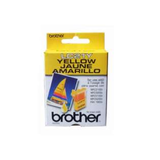 OEM (genuine original) Brother LC21Y ink cartridge - yellow