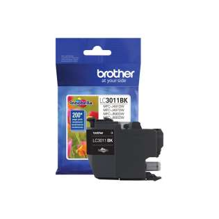 Original Brother LC3011BK inkjet cartridge - black