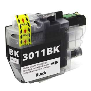 Compatible 499 inks brand inkjet cartridge for Brother LC3011BK - black
