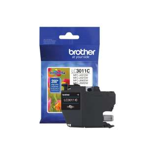 Original Brother LC3011C inkjet cartridge - cyan
