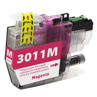 Compatible 499 inks brand inkjet cartridge for Brother LC3011M - magenta