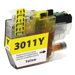 Compatible 499 inks brand inkjet cartridge for Brother LC3011Y - yellow