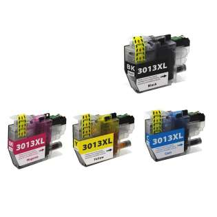 Compatible inkjet cartridges Multipack for Brother LC3013 - 4 pack