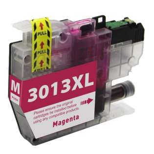 Compatible inkjet cartridge for Brother LC3013M - high yield magenta