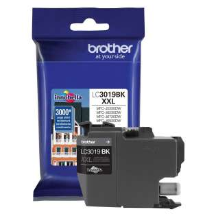Original Brother LC3019BK inkjet cartridge - super high yield black