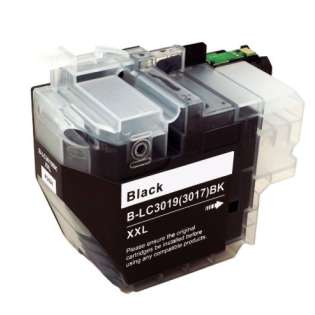 Brother LC3019BK ink cartridge compatible - super high capacity yield black