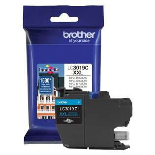 Original Brother LC3019C inkjet cartridge - super high yield cyan