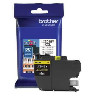 Original Brother LC3019Y inkjet cartridge - super high yield yellow