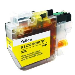 Brother LC3019Y ink cartridge compatible - super high capacity yield yellow
