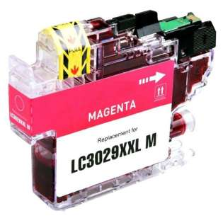 Brother LC3029M ink cartridge compatible - super high capacity yield magenta