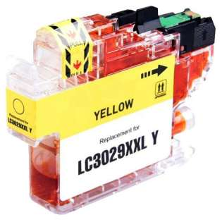 Brother LC3029Y ink cartridge compatible - super high capacity yield yellow