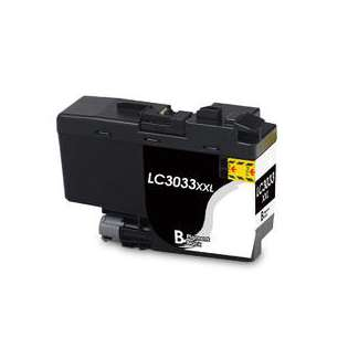 Compatible inkjet cartridge for Brother LC3033BK - super high yield black