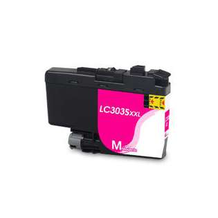 Compatible inkjet cartridge for Brother LC3035M - ultra high yield magenta