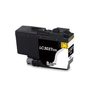 Compatible inkjet cartridge for Brother LC3037BK - super high yield black