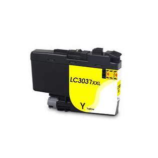 Compatible inkjet cartridge for Brother LC3037Y - super high yield yellow
