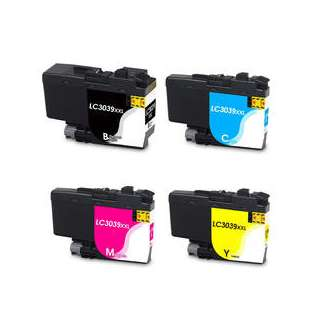 Compatible inkjet cartridges Multipack for Brother LC3039 - 4 pack