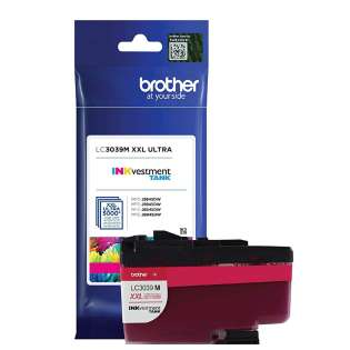 Original Brother LC3039M printer ink cartridge - ultra high yield magenta