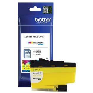 Original Brother LC3039Y printer ink cartridge - ultra high yield yellow