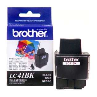 Brother LC41BK original ink cartridge, black