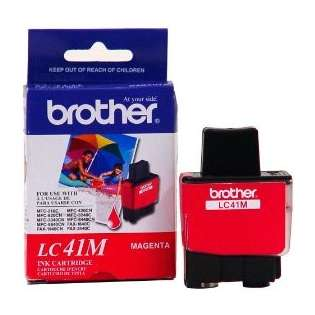 Brother LC41M original ink cartridge, magenta