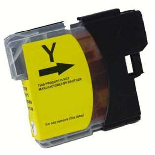 Compatible cartridge for Brother LC61Y - yellow