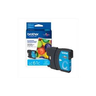 Brother LC61C original ink cartridge, cyan