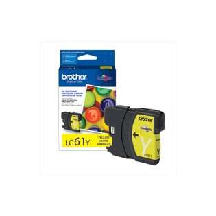 Brother LC61Y original ink cartridge, yellow