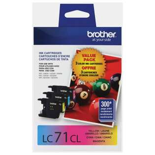 Original Brother LC713PKS (LC71) Multipack - 3 pack