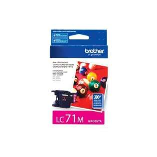 Brother LC71M original ink cartridge, magenta, 300 pages