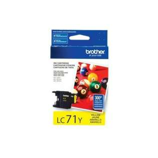 Brother LC71Y original ink cartridge, yellow, 300 pages