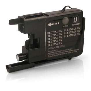 Compatible cartridge Brother LC75BK - black