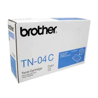 OEM Brother TN04C cartridge - cyan