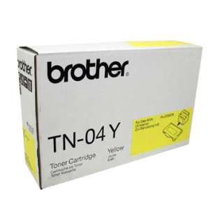 OEM Brother TN04Y cartridge - yellow