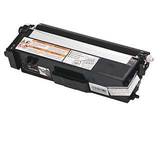 Compatible Brother TN315BK toner cartridge, 6000 pages, high capacity yield, black
