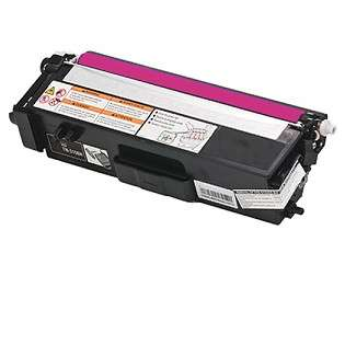 Compatible Brother TN315M toner cartridge, 3500 pages, high capacity yield, magenta