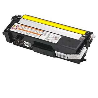 Compatible Brother TN315Y toner cartridge, 3500 pages, high capacity yield, yellow