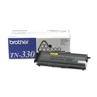 Brother TN330 Genuine Original (OEM) laser toner cartridge, 1500 pages, black